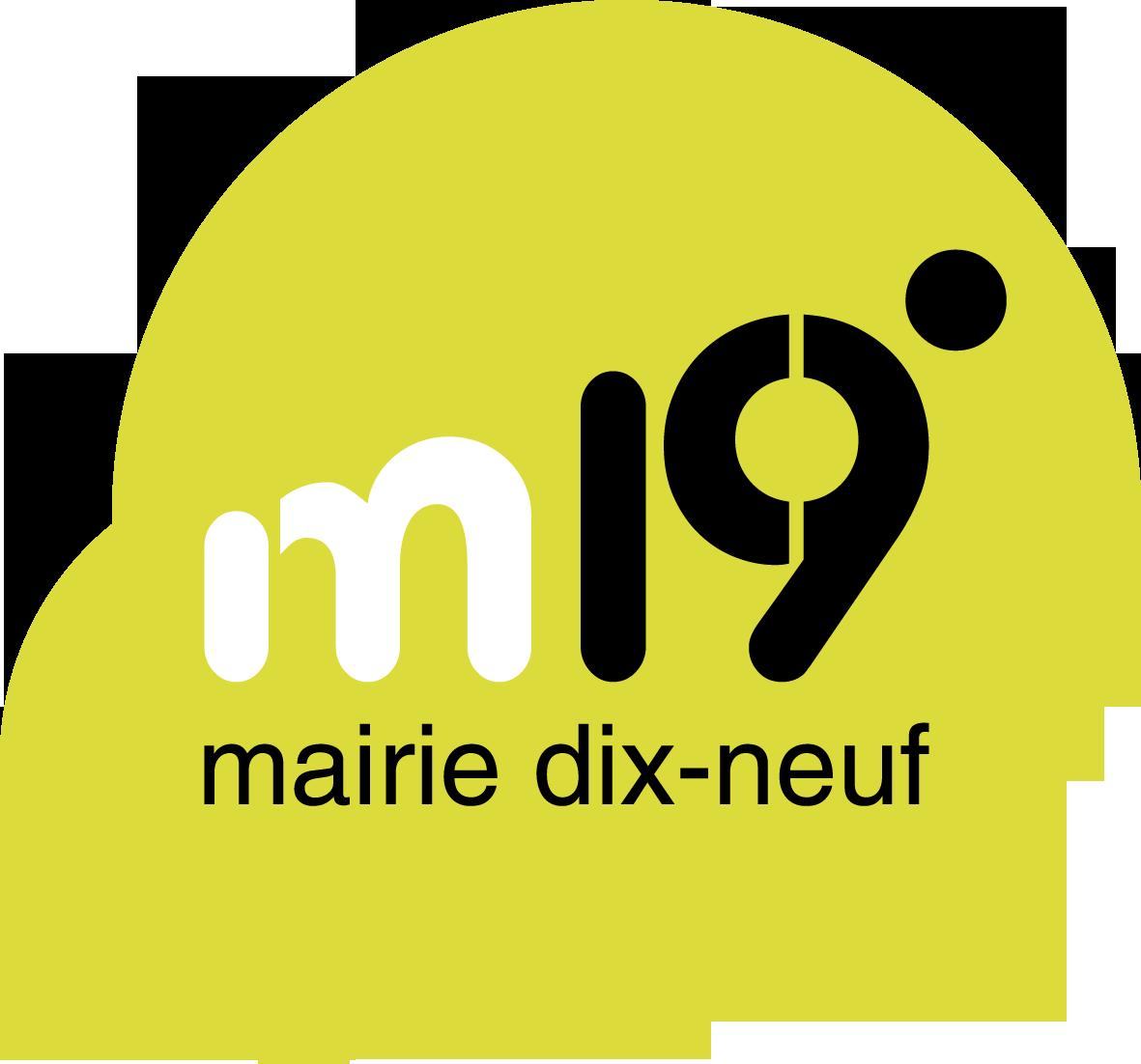 Logo 19ème arrondissement de Paris